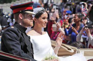 Hochzeitstag Von Meghan Und Harry Als Meghan Noch