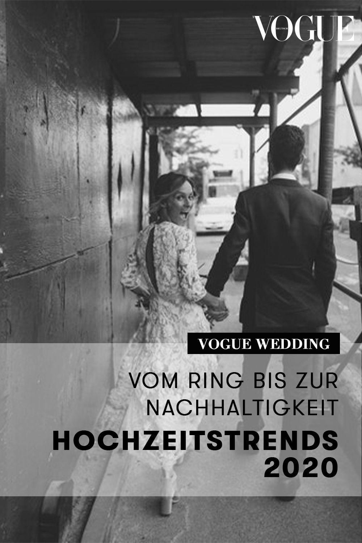 Hochzeitstrends 2020 Vom Ring Bis Zur Nachhaltigkeit