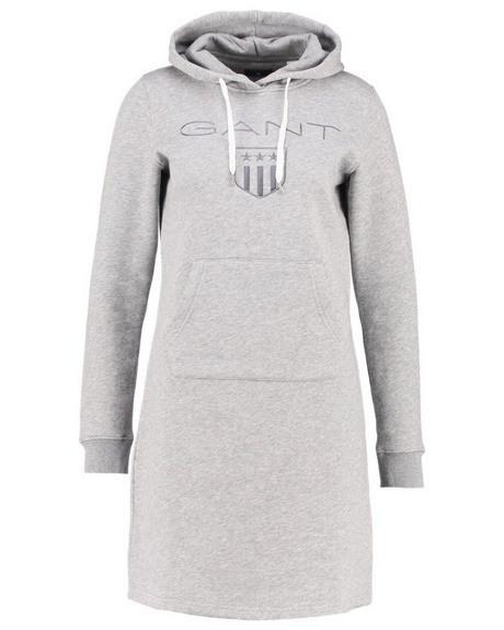 Hoodie Kleid Damen