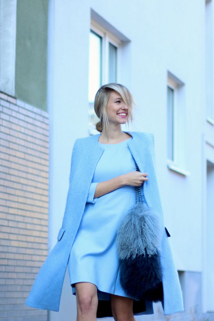 Ice Ice Blue Baby  Elegante Kleidung Ohh Couture Und
