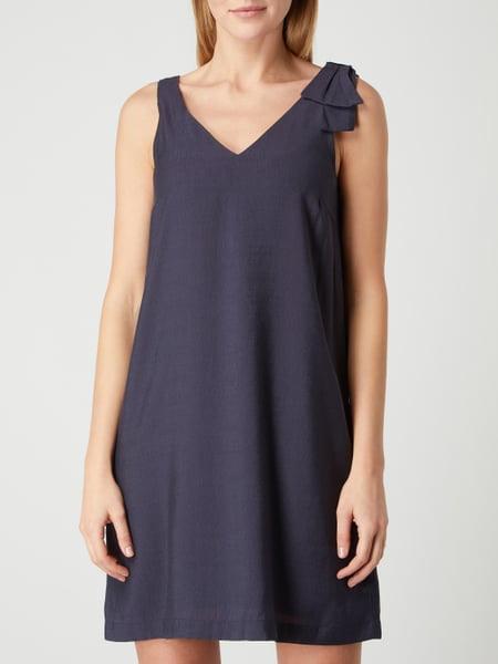 Ichi Kleid Mit Schleifenapplikation Modell 'Lilia' In