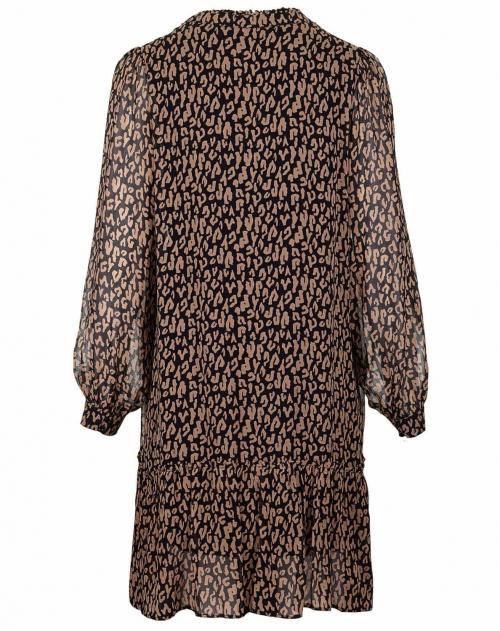 Iheart Kleid Ellena Leopard  Stakks