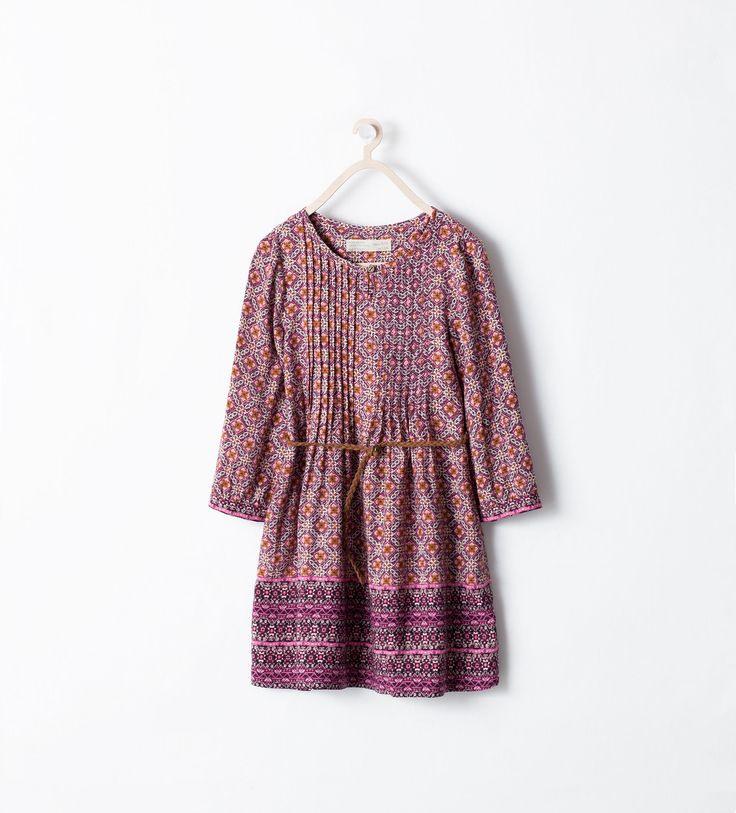 Image 1 Of From Zara  Kinder Kleider Modische Mädchen Zara