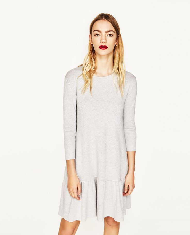 Image 2 Of Frilly Dress From Zara  Kleider Kleid Mit