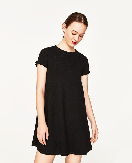 Image 2 Of Mini Dress From Zara  Kleider Minikleid Tuch