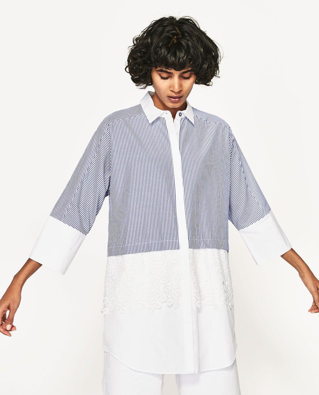 Image 2 Of Shirt Dress From Zara  Hemdblusenkleid Zara