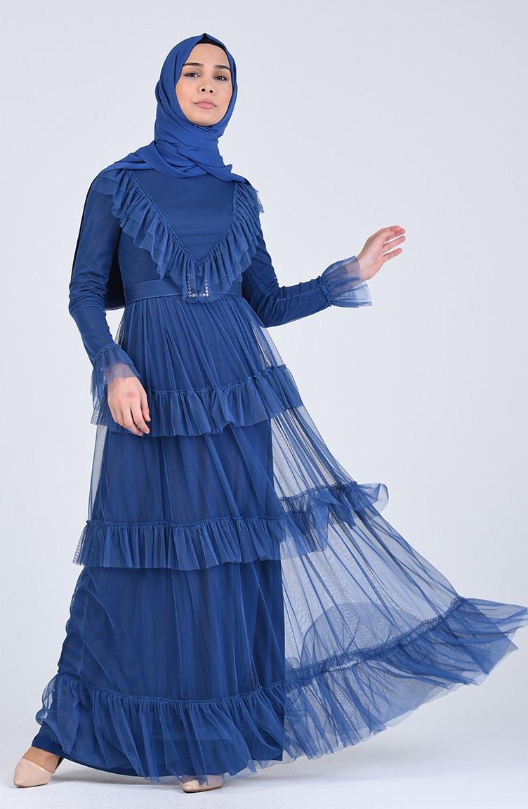 Indigo Hijababendkleider 1202401  Sefamerve