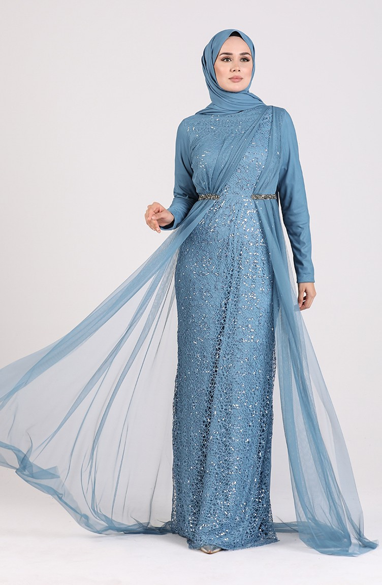 Indigo Hijababendkleider 538802  Sefamerve