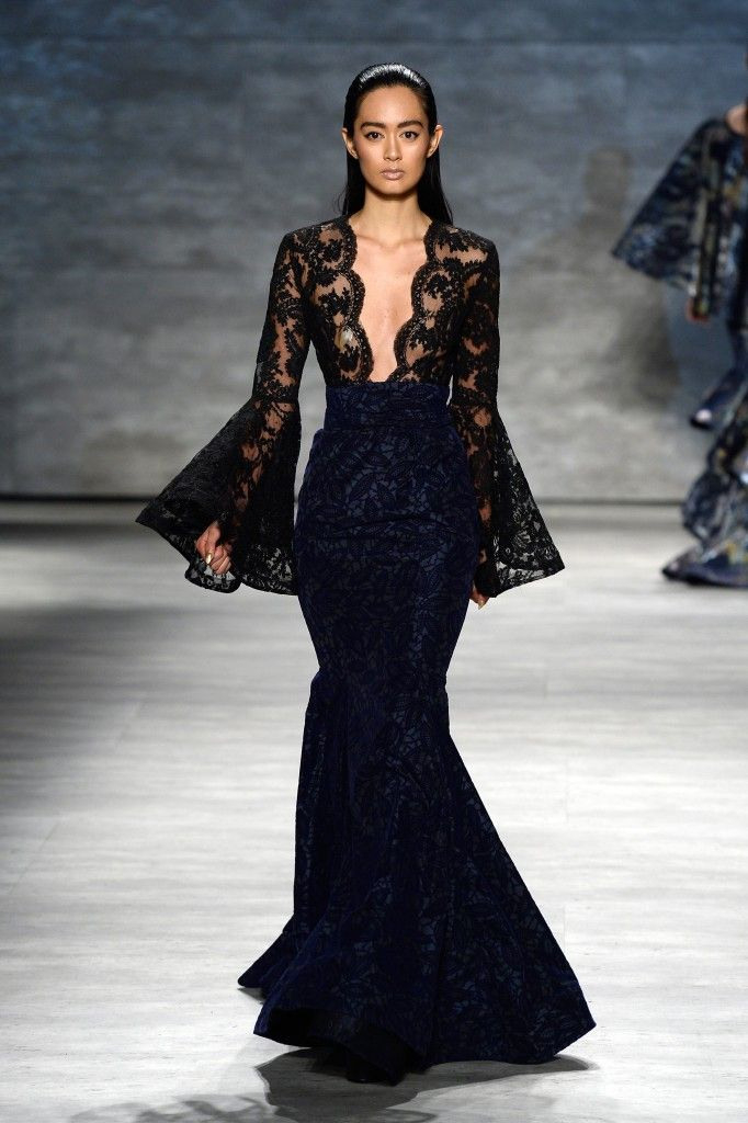 Inspirations Trendfarbe Dunkelblau  Elegante