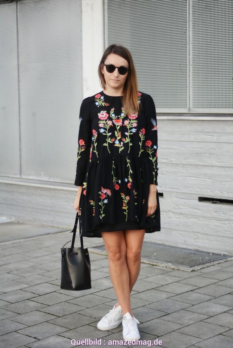 Interessant Schwarzes Kleid Von Zara Outfit Das