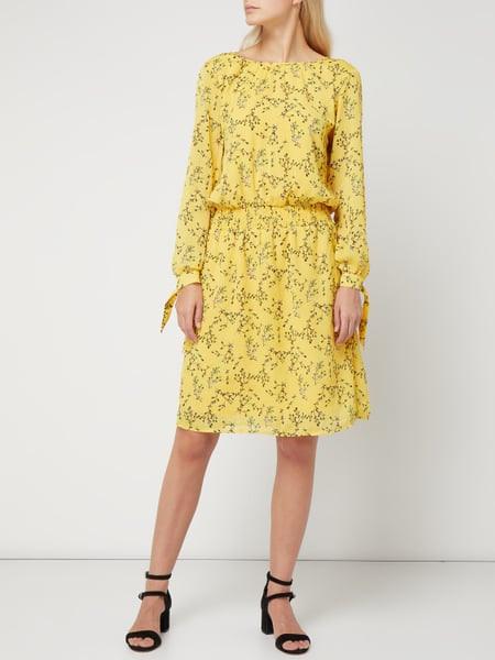 Inwear Kleid Mit Floralem Muster In Gelb Online Kaufen