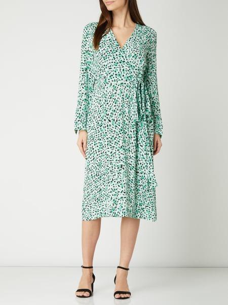 Inwear Kleid Mit Leopardenmuster Modell 'Cadi' In Grün