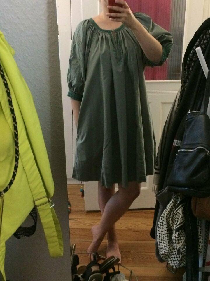Isabel Marant Alinie Kleid Mit Stickereien Gr 1 Wie 36