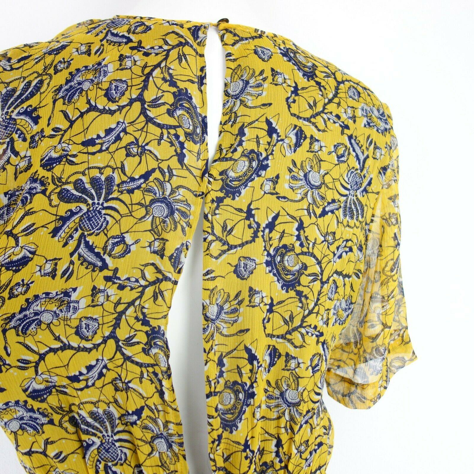 Isabel Marant Damen Kleid Blusenkleid Reine Seide Größe 40