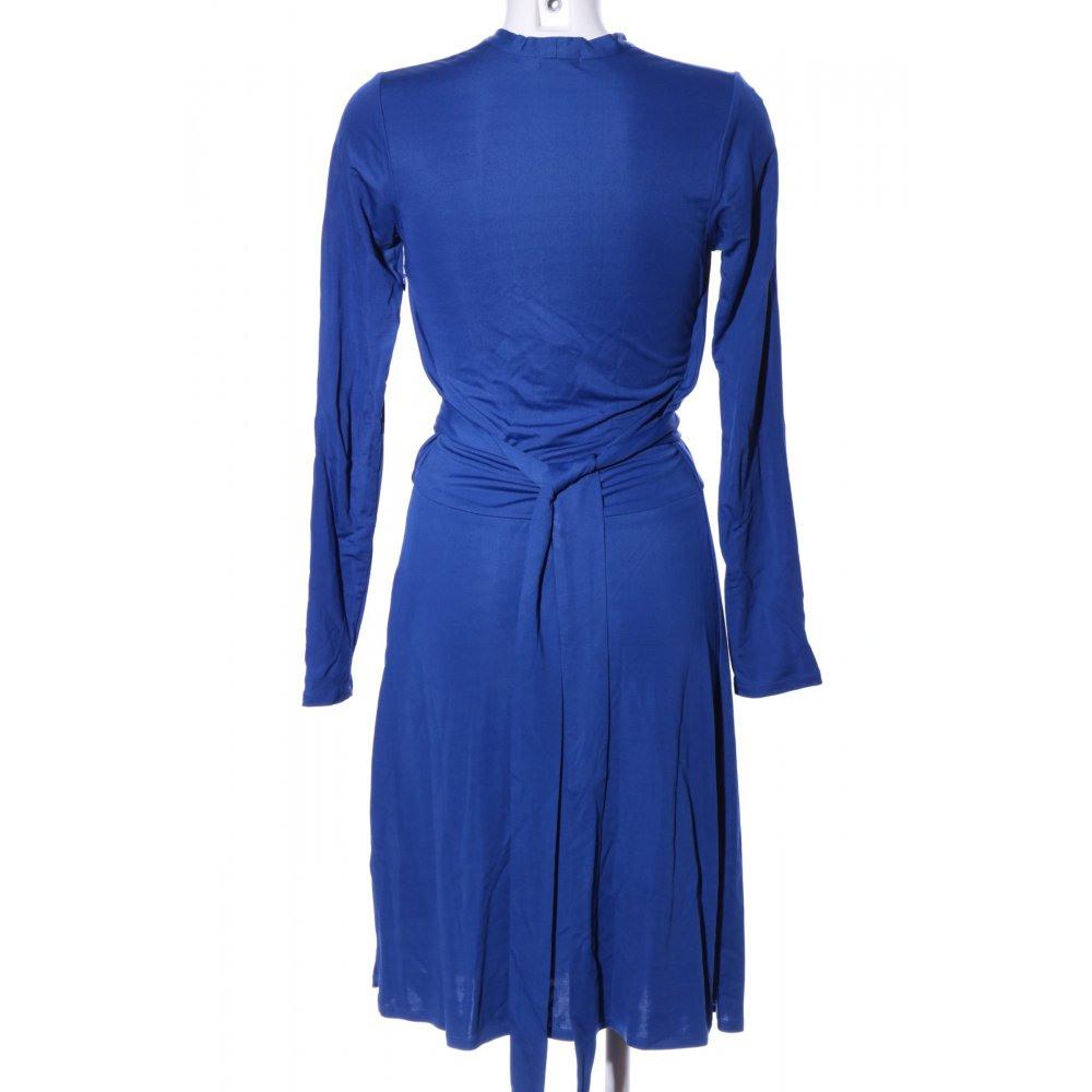 Issa London Langarmkleid Blau Elegant Damen Gr De 38