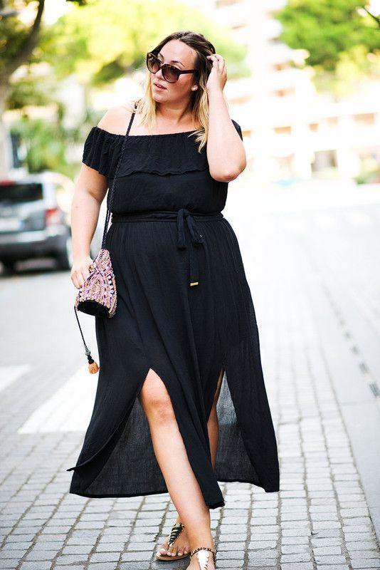 Italienische Mode Maxikleider