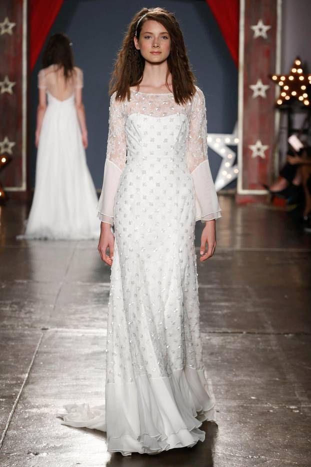"""""""Ja"""" 💍 Das Sind Die Schönsten Brautkleidertrends 2018"""