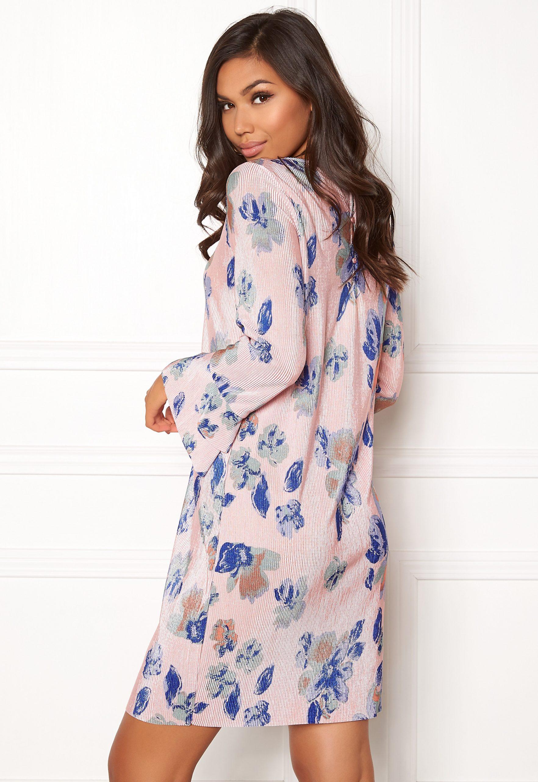 Jacqueline De Yong Cita L/S Dress Peachskin  Bubbleroom