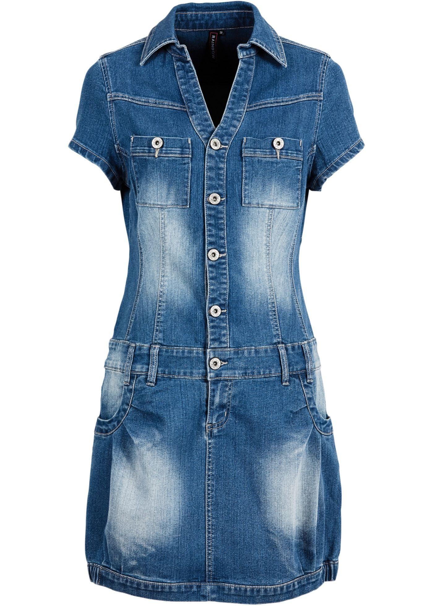 Jeanskleid Aus Nachhaltiger Produktion  Jeans Kleid