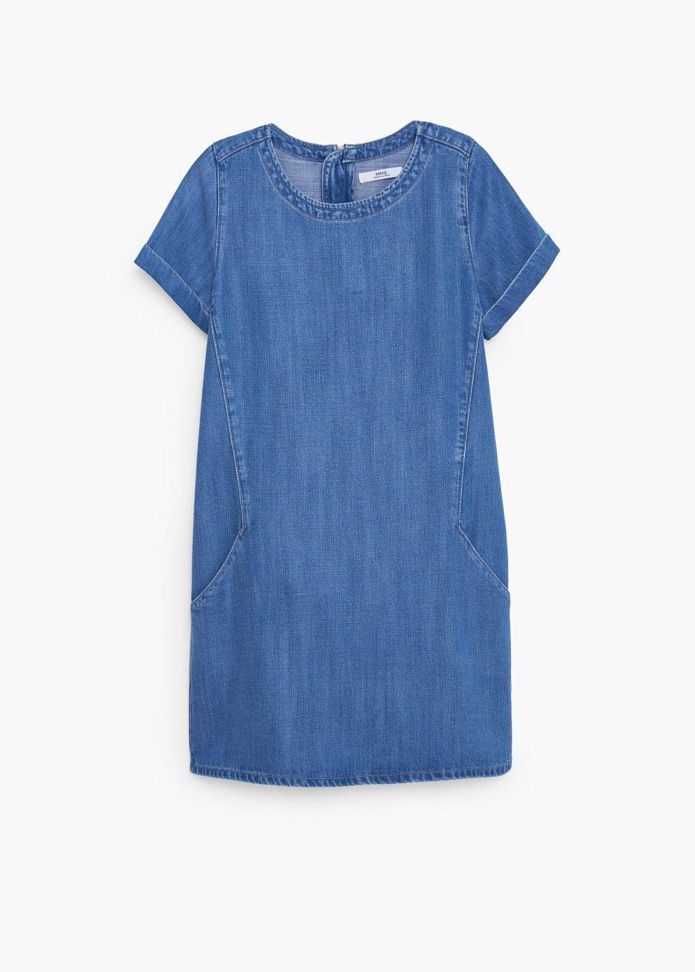 Jeanskleid  Damen In 2020  Schlichte Sommerkleider