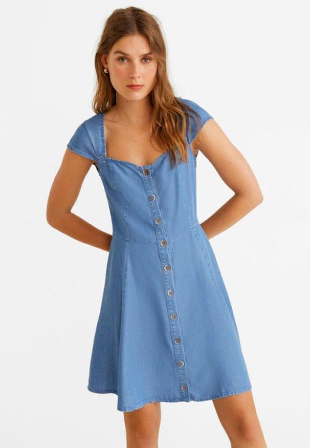 Jeanskleid Größe 38  Zalando