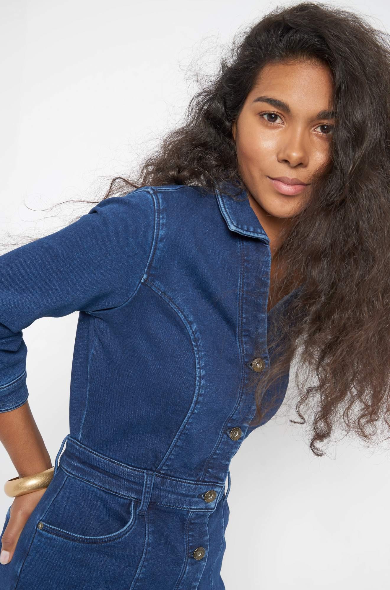 Jeanskleid In Alinie  Orsay