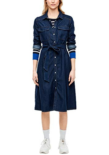 Jeanskleider Von Soliver In Blau Für Damen