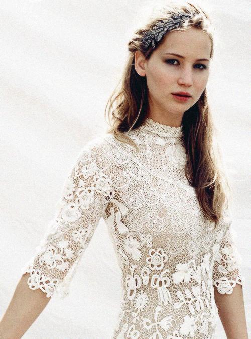 Jennifer Lawrence  Kleid Hochzeit Hochzeitskleider