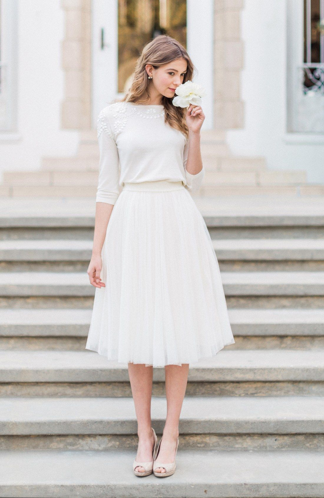 Jenny Yoo Lucy Tulle Skirt  Tulle Skirts Outfit Classy