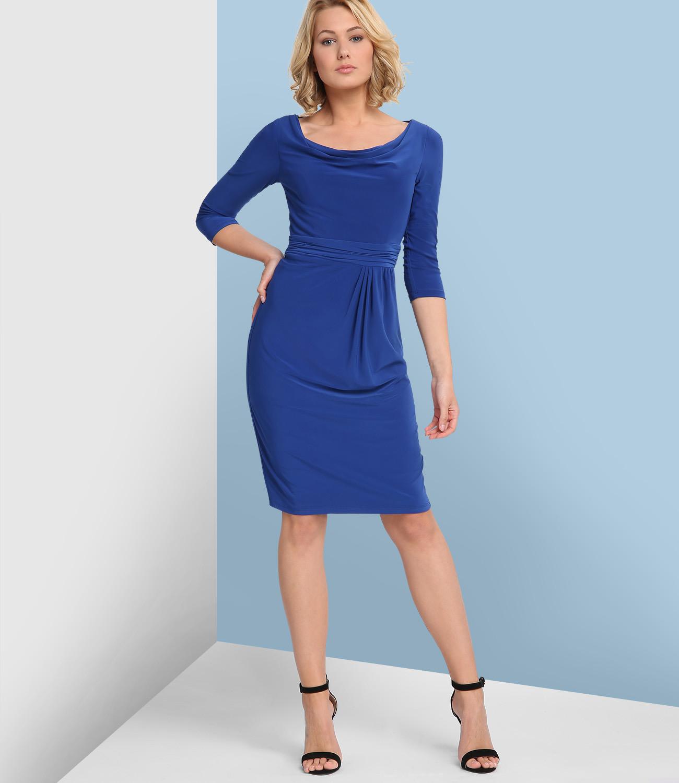 Jersey Kleid In Königsblau  Apart Fashion