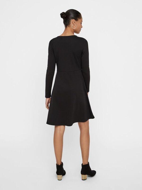 Jersey Kleid Mit Langen Ärmeln Von Vero Moda Ansehen
