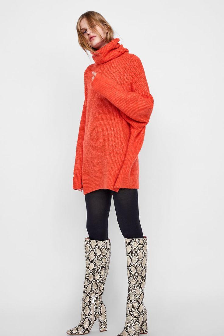 Jersey Oversize  Modetrends Modestil Strickkleid