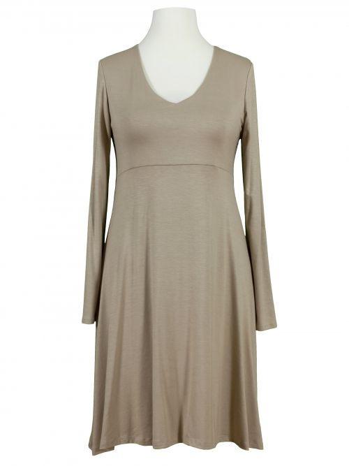 Jerseykleid Aform Beige  Kleider Kleid Arbeit Modestil