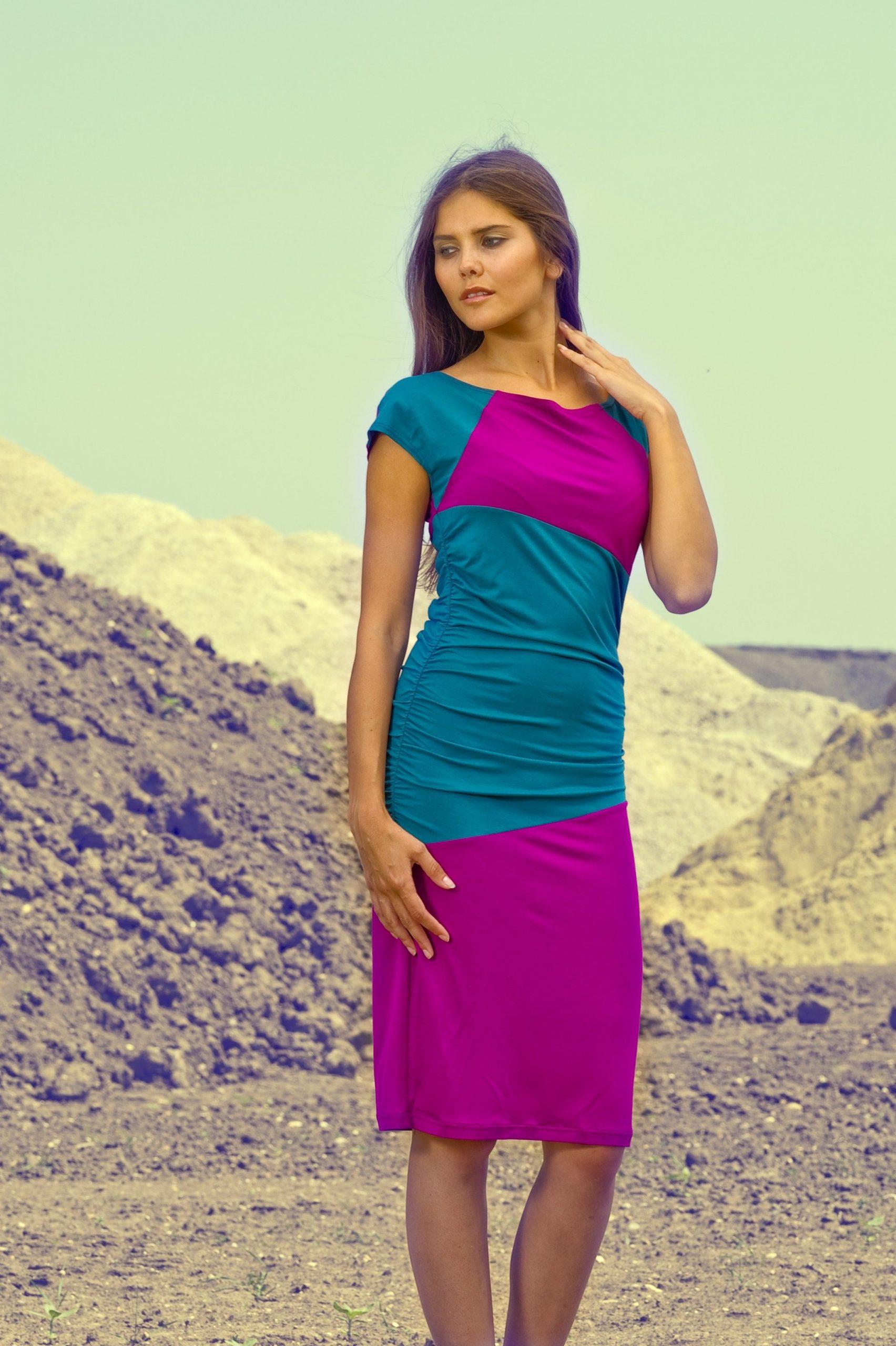 Jerseykleid Clara Kleider Frauenmode  Mode Kleider
