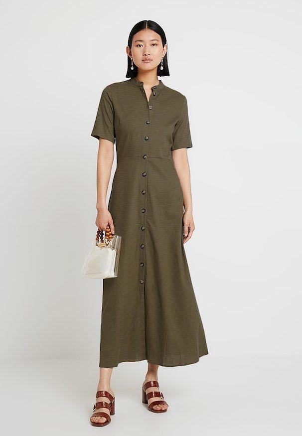 Jerseykleid  Olive Night  Zalandoat 🛒  Sommer Kleider