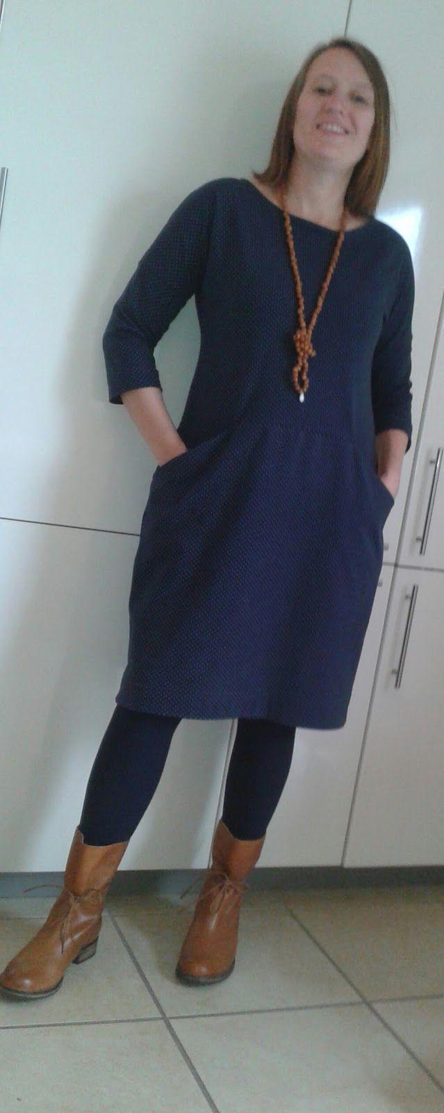 Jerseykleid Ottobre  Nähen Kleid Damen Kleider Damen