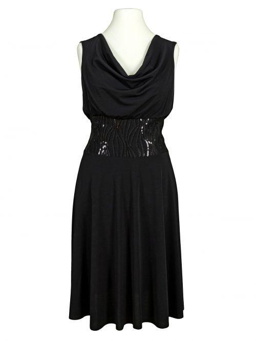 Jerseykleid Pailletten Schwarz  Schwarzes Kleid Pailletten