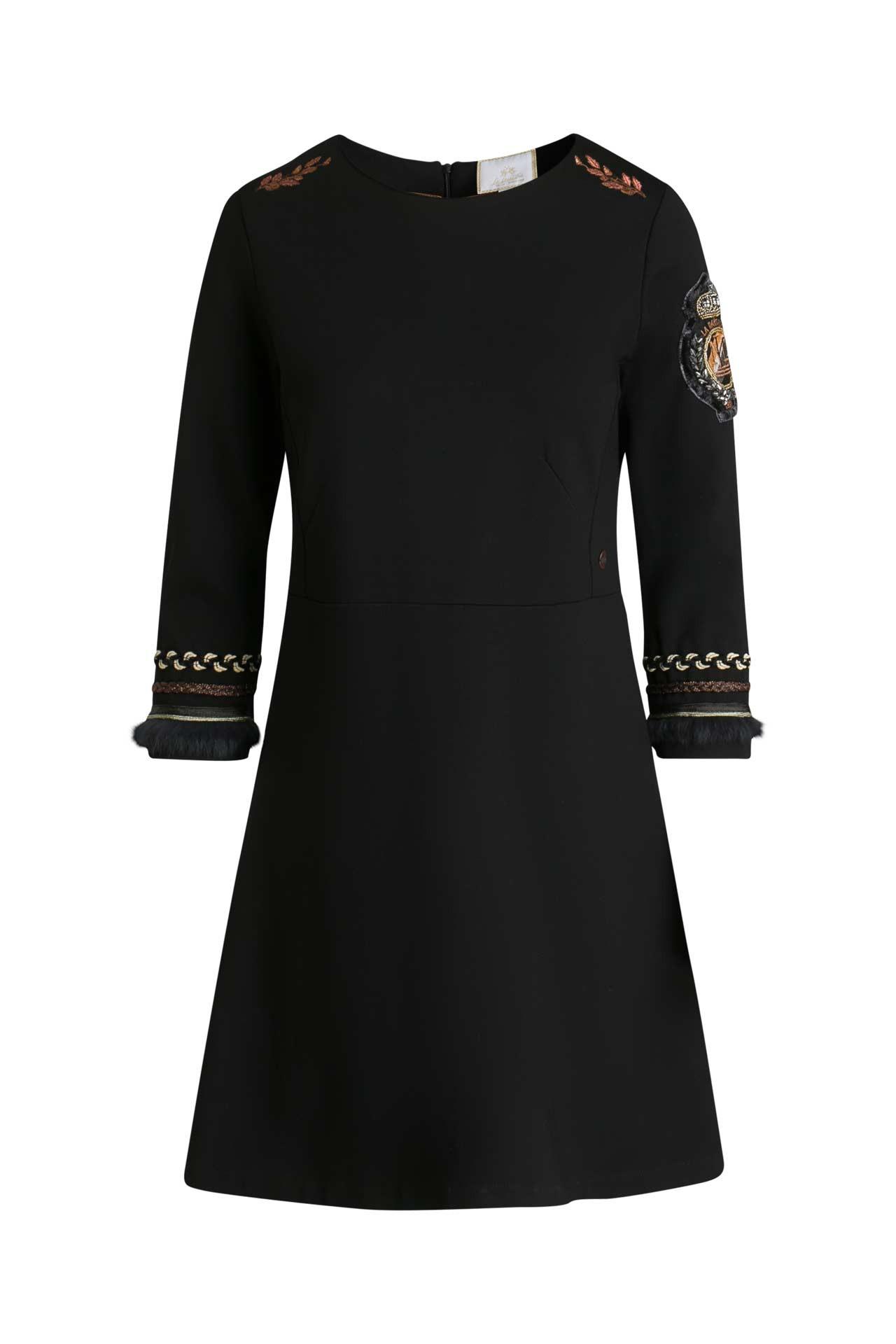 Jerseykleid Schwarz  La Martina » Günstig Online Kaufen