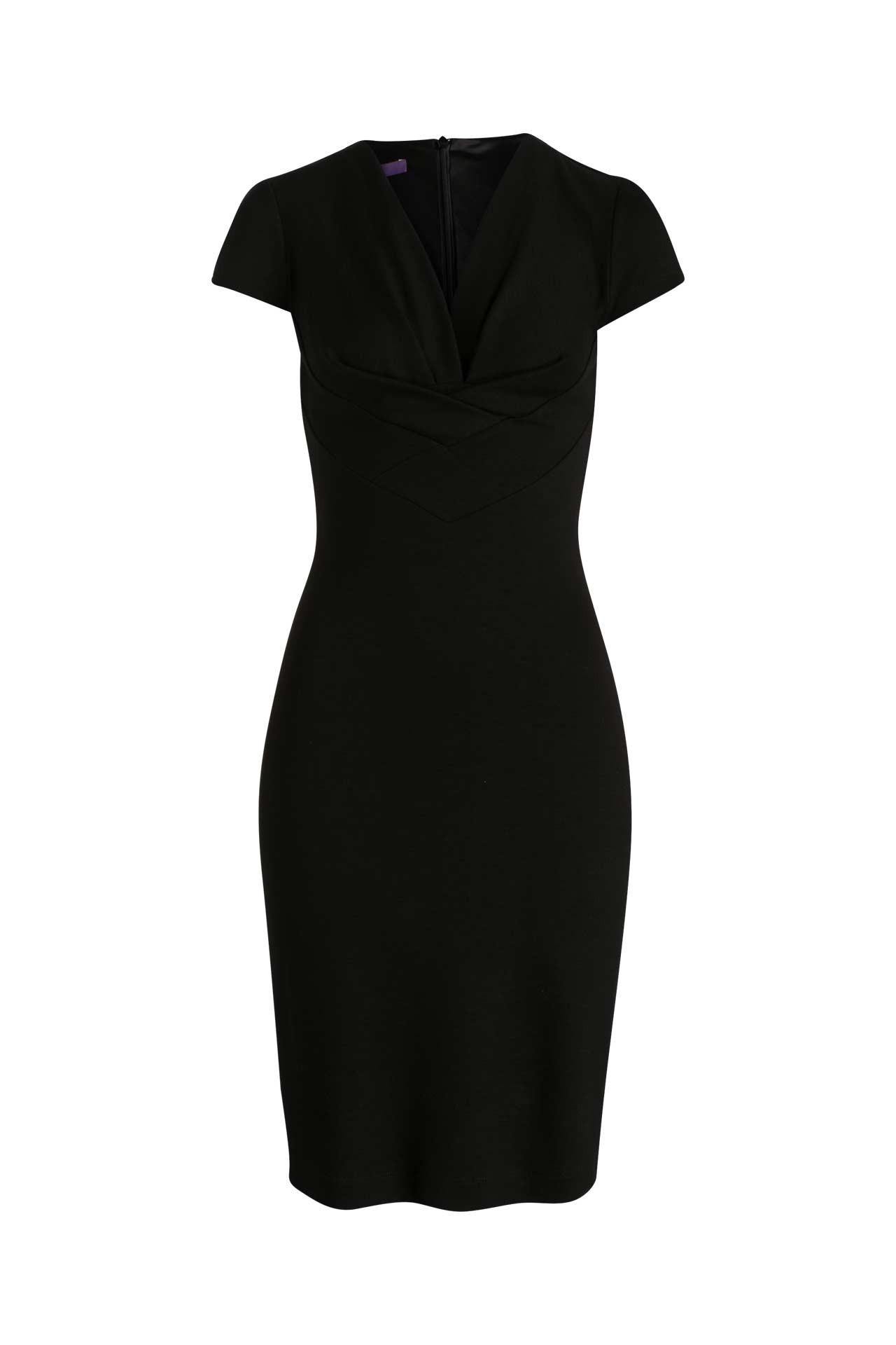 Jerseykleid Schwarz  Laurèl » Günstig Online Kaufen