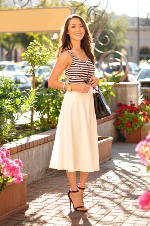 Jessica Ricks  Mode Röcke Modestil Schöne Kleider Kurz