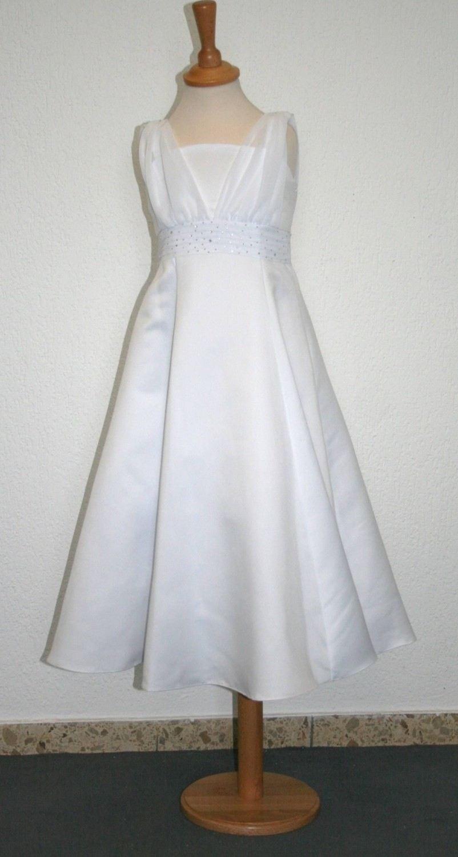 Joykids Blumenkind Mädchenkleid Prom Ivory