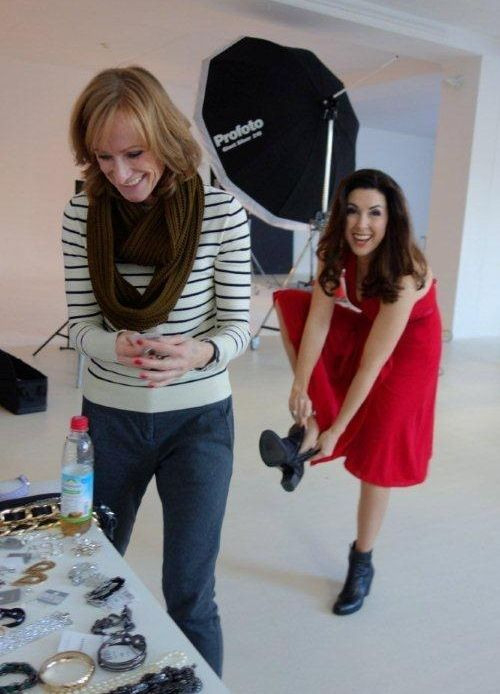 Judith Williams Behind The Scenes Hse24 Fashion