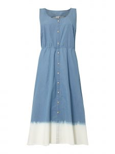 Junarose Plus Size Jeanskleid Mit Farbverlauf In Blau