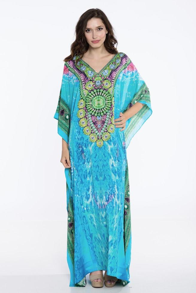 Kaftan Kaftan Kleid Plus Size Kleidung Loungewear Strand