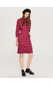 Kariertes Kleid Kleider Jumpsuits Bunt Reserved