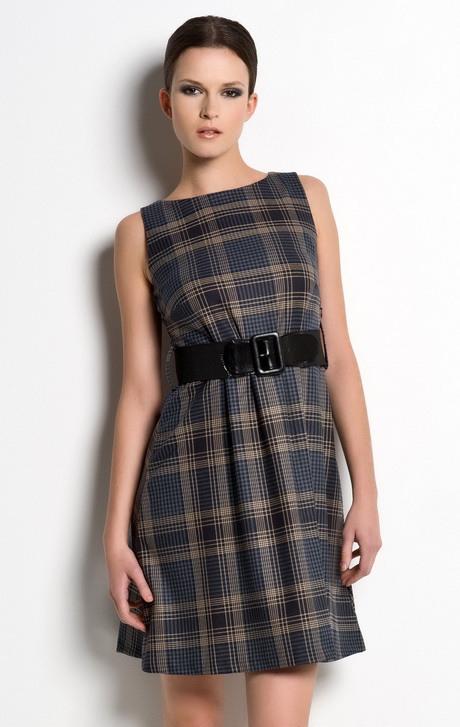 Kariertes Kleid