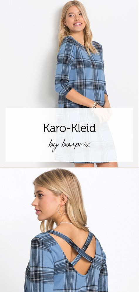 Karokleid  Kleider Kariertes Kleid Und Outfit