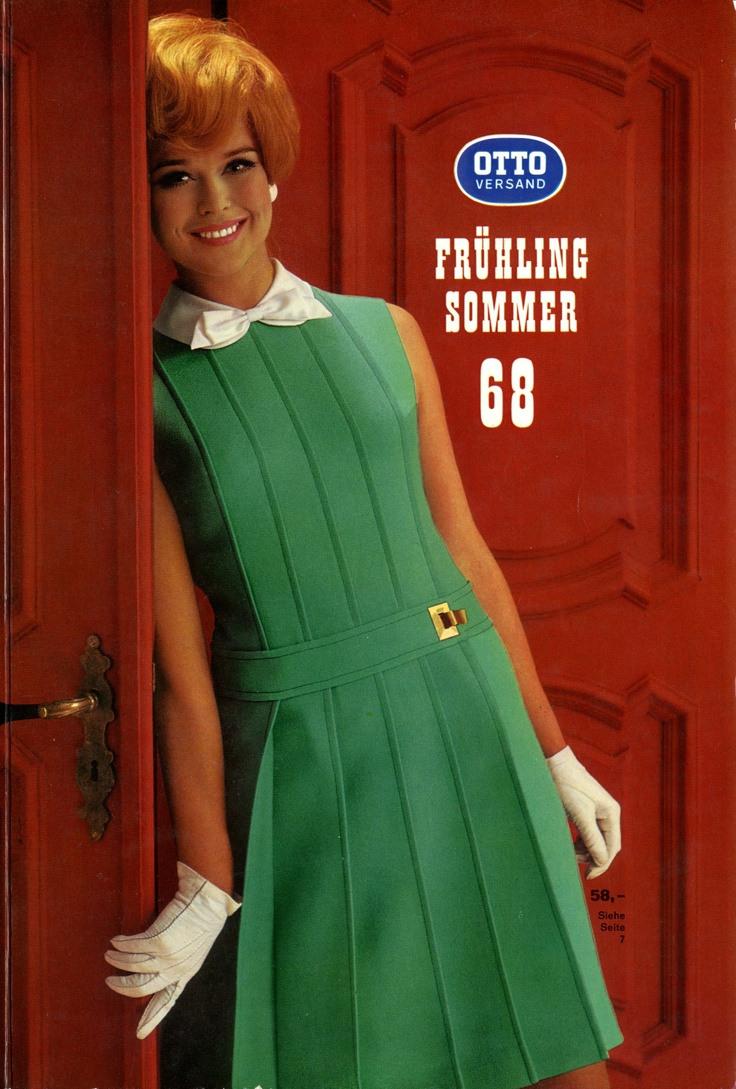 Katalogcover Frühjahr/Sommer 1968  Sechziger Jahre Mode