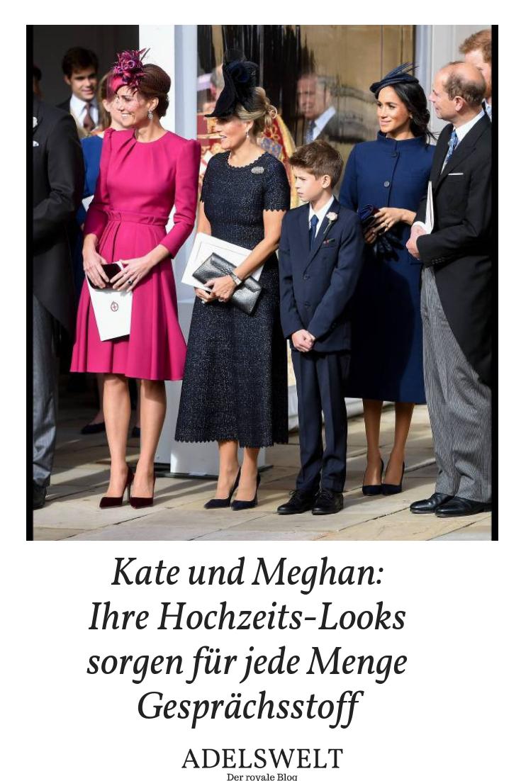 Kate Und Meghan Ihre Hochzeitslooks Begeistern