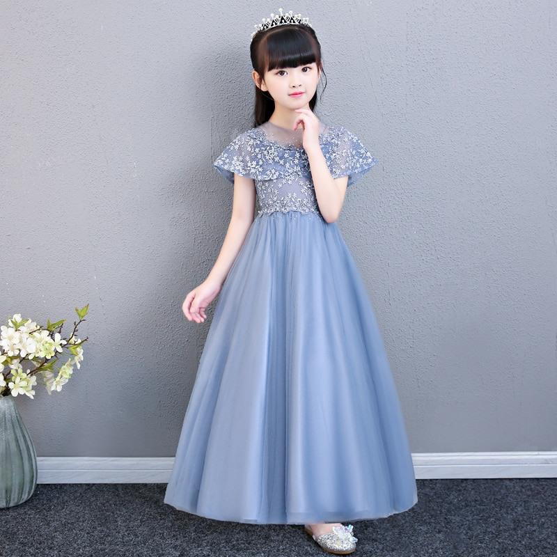 Kaufen Mädchen Babys Party Kleid Kinder Elegante